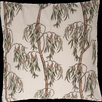Parure de lit en percale de coton motif Saule - Plusieurs tailles
