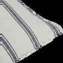 Coussin lin et coton à rayures 45x45 cm-PASSO