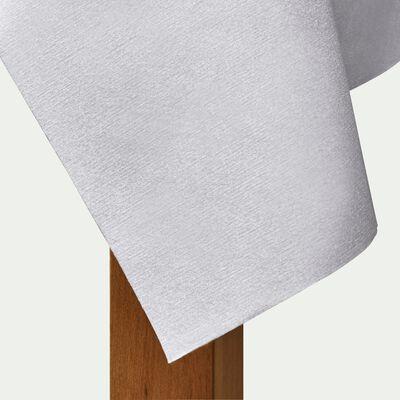 Nappe en papier gris borie 160x240cm-SALERNE
