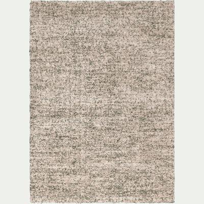 Tapis rectangulaire blanc moucheté 160x230 cm-ANAIS