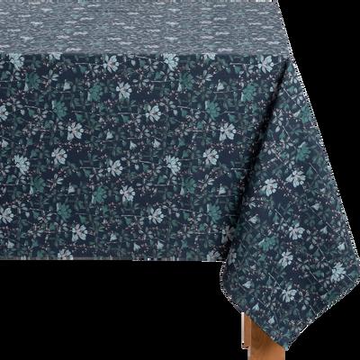 Nappe en coton décoré 140x250cm-FLORE