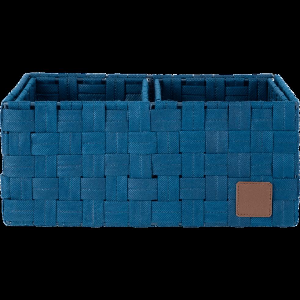 Lot de 3 paniers bleu figuerolles-JASA