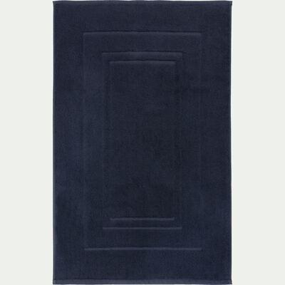 Tapis de bain en coton peigné - gris calabrun 50x80cm-AZUR