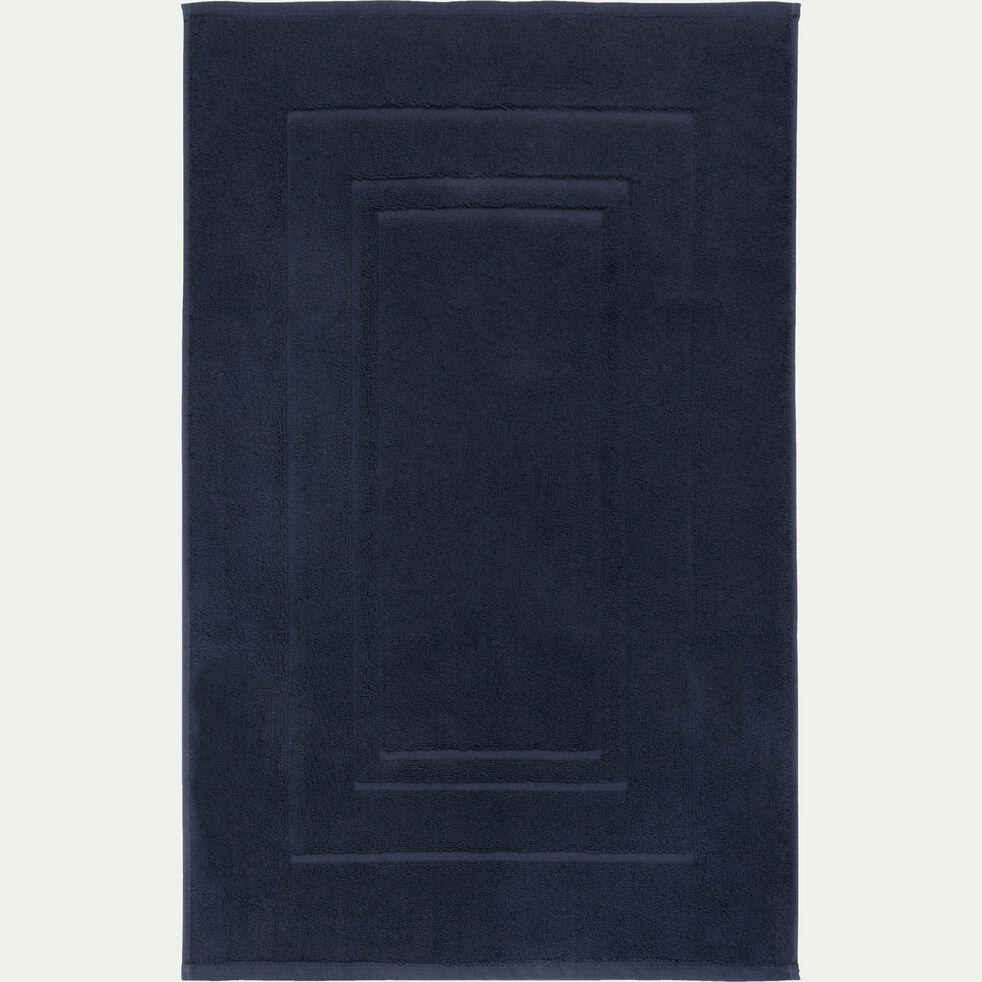 Tapis de bain en coton - gris calabrun 50x80cm-AZUR