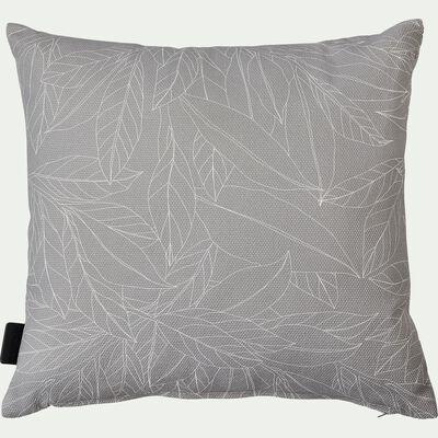 Coussin d'extérieur déperlant - gris borie 40x40cm-Trayas
