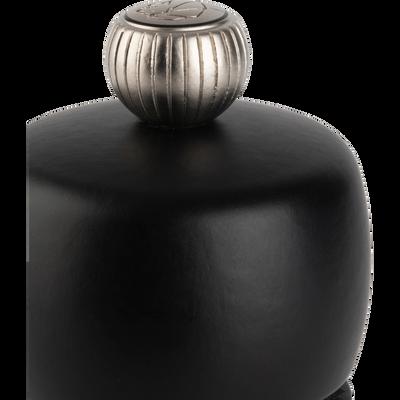 Moulin à poivre en bois noir mat 15cm-TAHITI