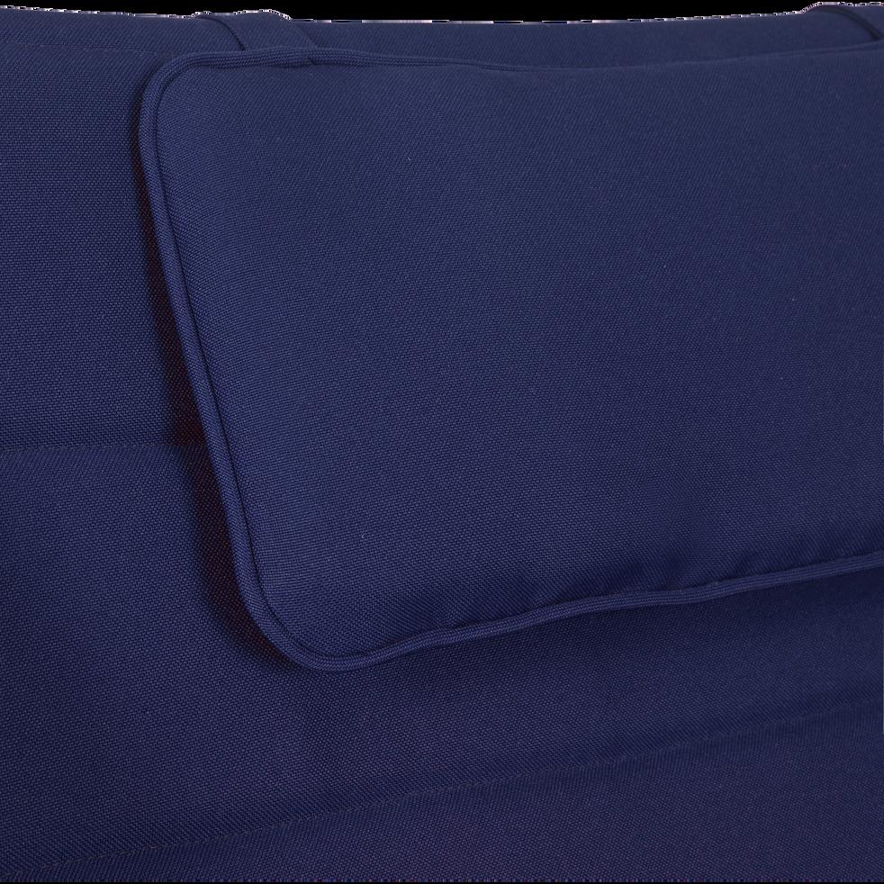 Chilienne matelassée bleu myrte-LENA