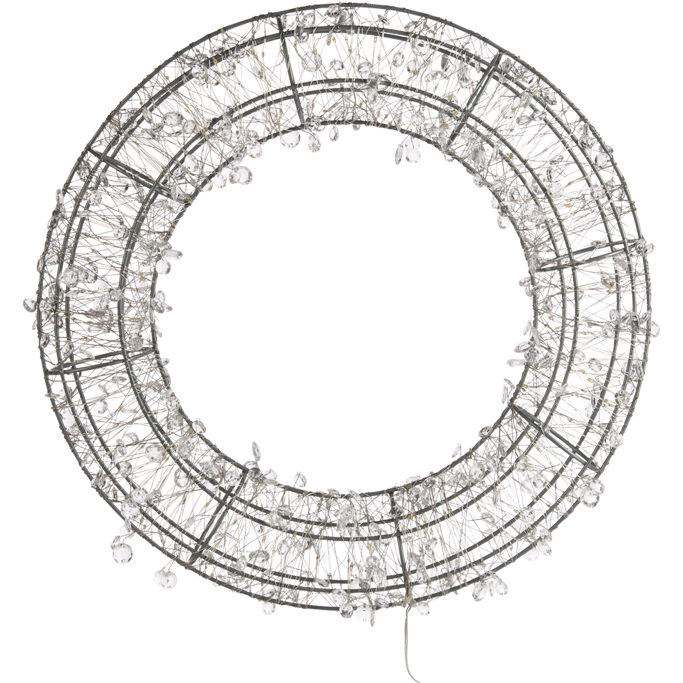 Couronne de led D45cm-SELENA