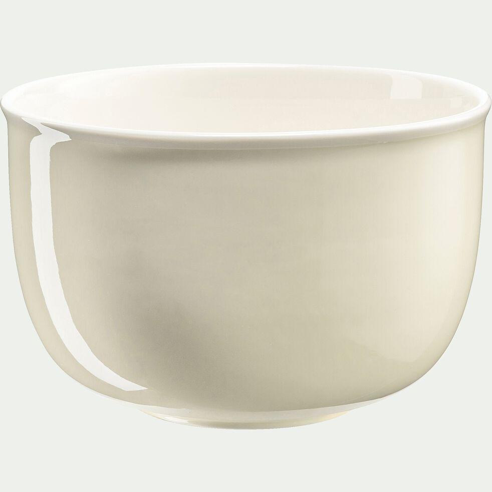 Saladier en porcelaine - beige roucas D23cm-CAFI