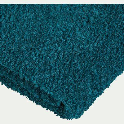 Serviette coton et lin 45x100cm bleu niolon-ADONI