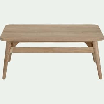 Table basse de jardin en teck - naturel-Gafo