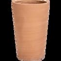 Pot en terre cuite H60xD37cm-MIRA