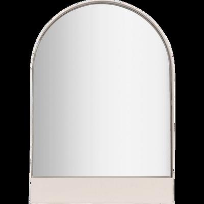 Miroir décoratif en métal rose-GYALY