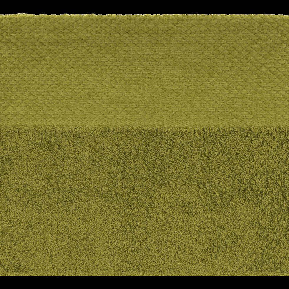 Linge de toilette vert garrigue-AZUR