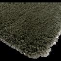 Tapis à poils longs vert cèdre 200x290cm-KRIS