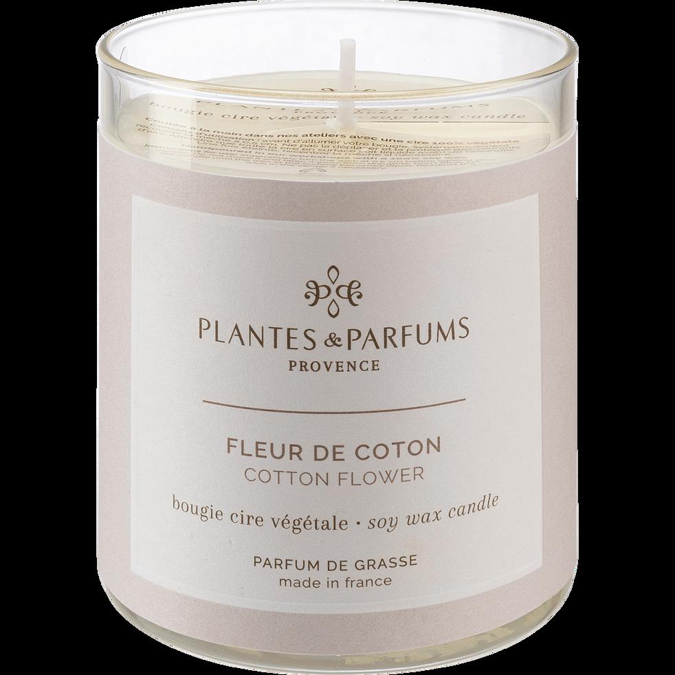 Bougie parfumée Fleur de Coton 180g-FLEUR DE COTON