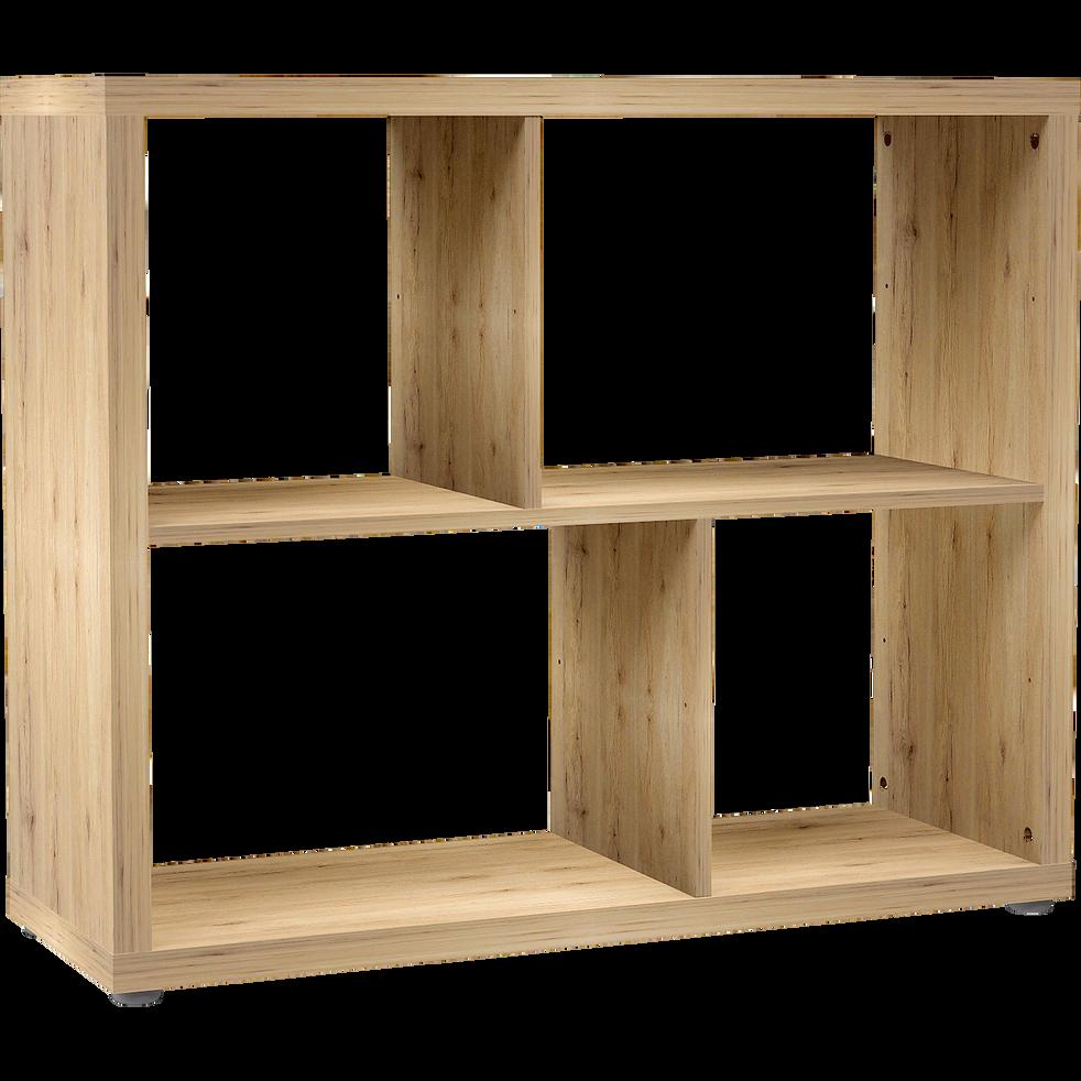 tag re 4 cases coloris ch ne brik rangements composer alinea. Black Bedroom Furniture Sets. Home Design Ideas