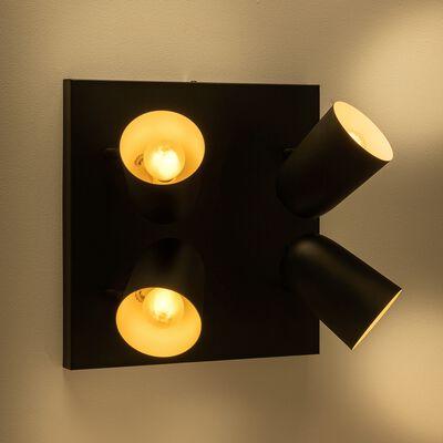 Barre 4 spots - noir-AYR
