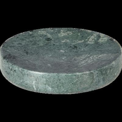 Porte-savon en marbre vert-EULALIE