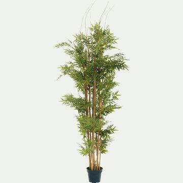 Plante intérieure artificielle en bambou - vert H150cm-Bambou