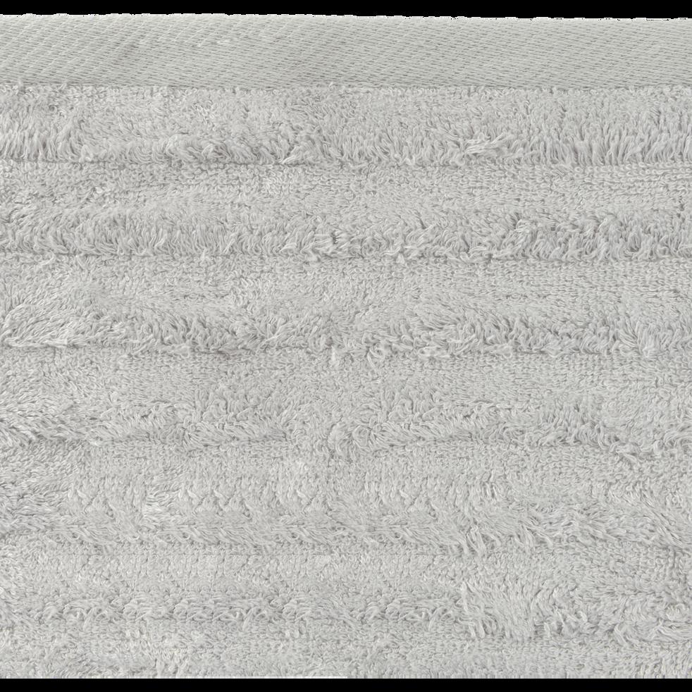 Lot de 2 gants en viscose et coton gris borie-AUBIN