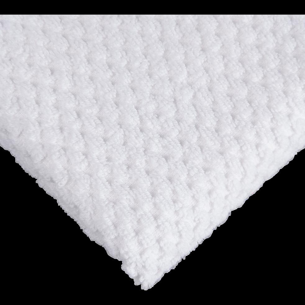 Serviette de toilette en coton 50x100cm blanc-PIANO