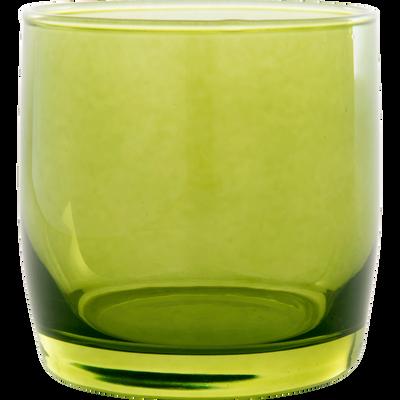 Verre à eau vert 30cl-BELLI