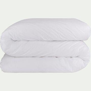 Housse de couette en coton - blanc 200x200cm-CALANQUES