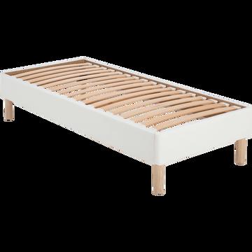 Sommier avec caisse en bois - 90x200 cm-TOPAZE