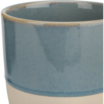 Mug en grès bleu 25cl-SANTAL
