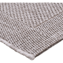 Tapis intérieur et extérieur gris 60x110 cm-KELLY