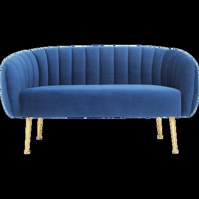 canap s en velours mobilier et d coration alinea. Black Bedroom Furniture Sets. Home Design Ideas