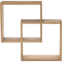 tag re cube murale en ch ne tassia tag res murales alinea. Black Bedroom Furniture Sets. Home Design Ideas