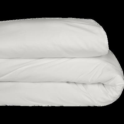 Housse de couette en coton Blanc capelan 140x200cm-CALANQUES