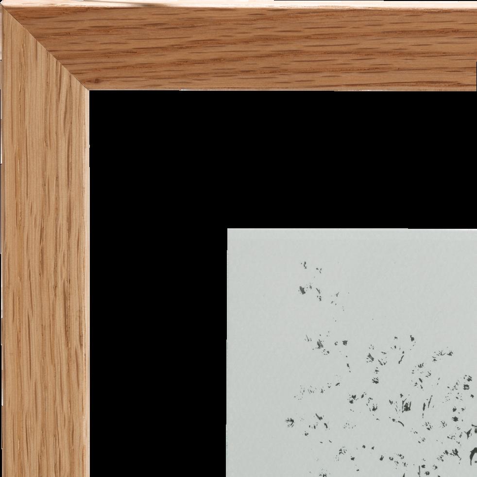 Image encadrée mimosa 34x44cm-NATAQUA