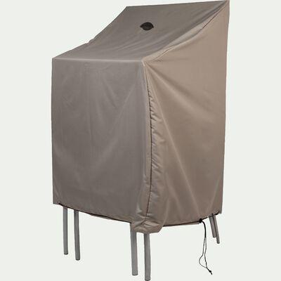 Housse de protection pour chaises - beige alpilles - (L66x66xH120cm)-RIANS
