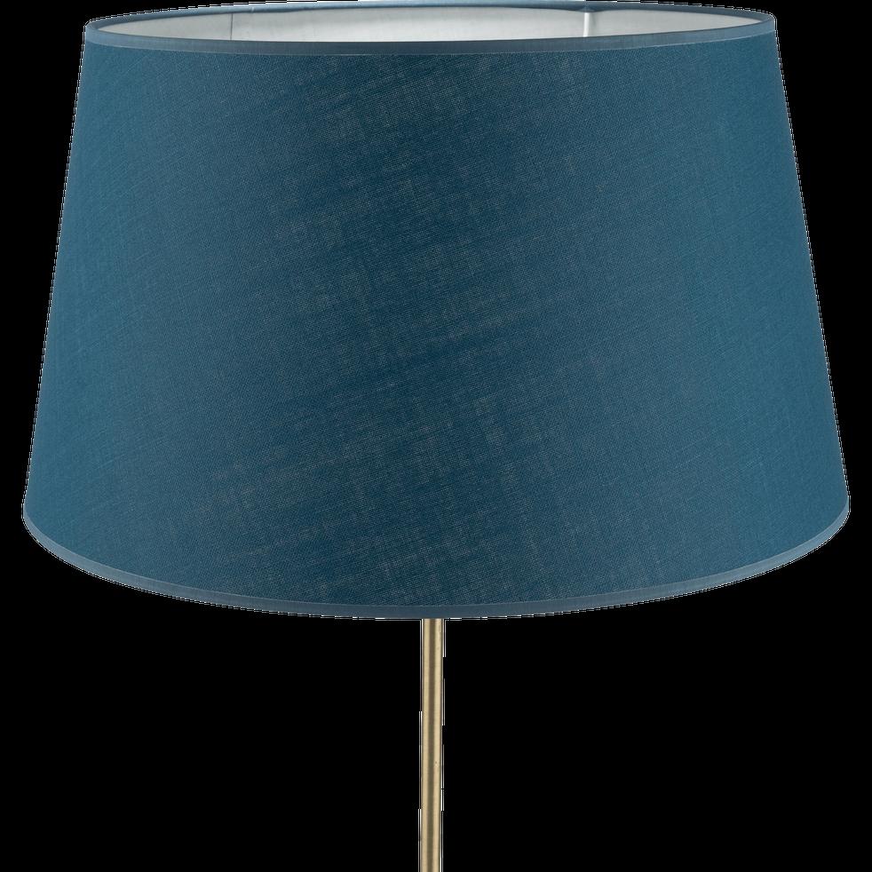 abat jour tambour bleu figuerolles mistral luminaire. Black Bedroom Furniture Sets. Home Design Ideas