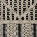 Tapis sisal intérieur et extérieur - beige et noir 120x170cm-JERSEY