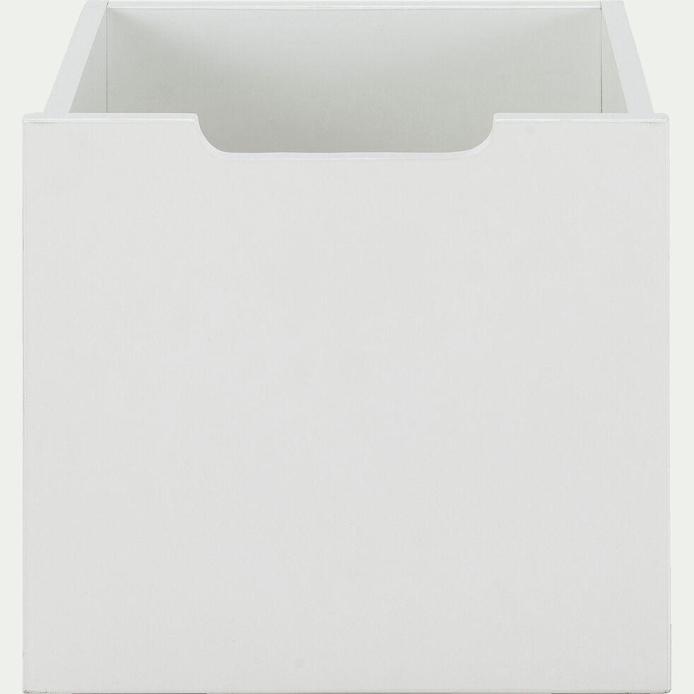 Tiroir de rangement chambre enfant - blanc-POLLUX