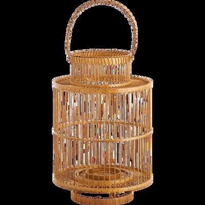 Lanterne en rotin H38xD25cm-HYDRA
