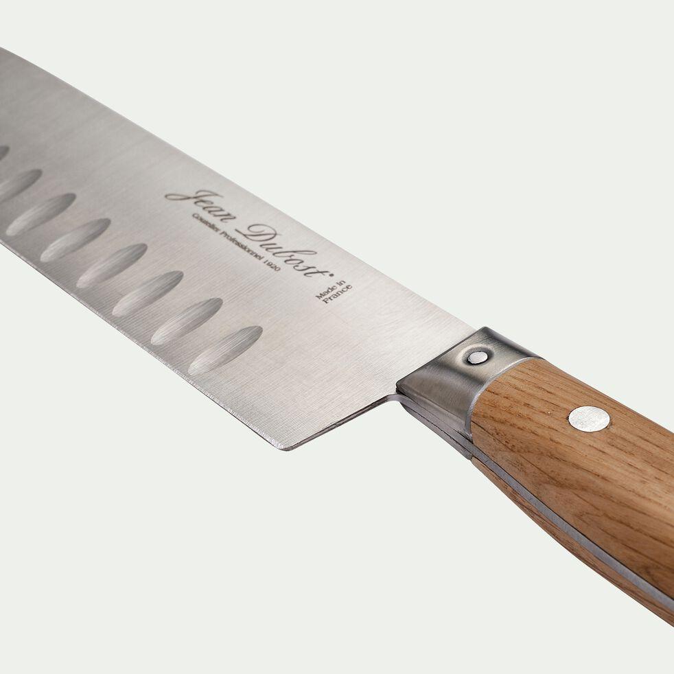 Couteau santoku en bois de chêne-1920