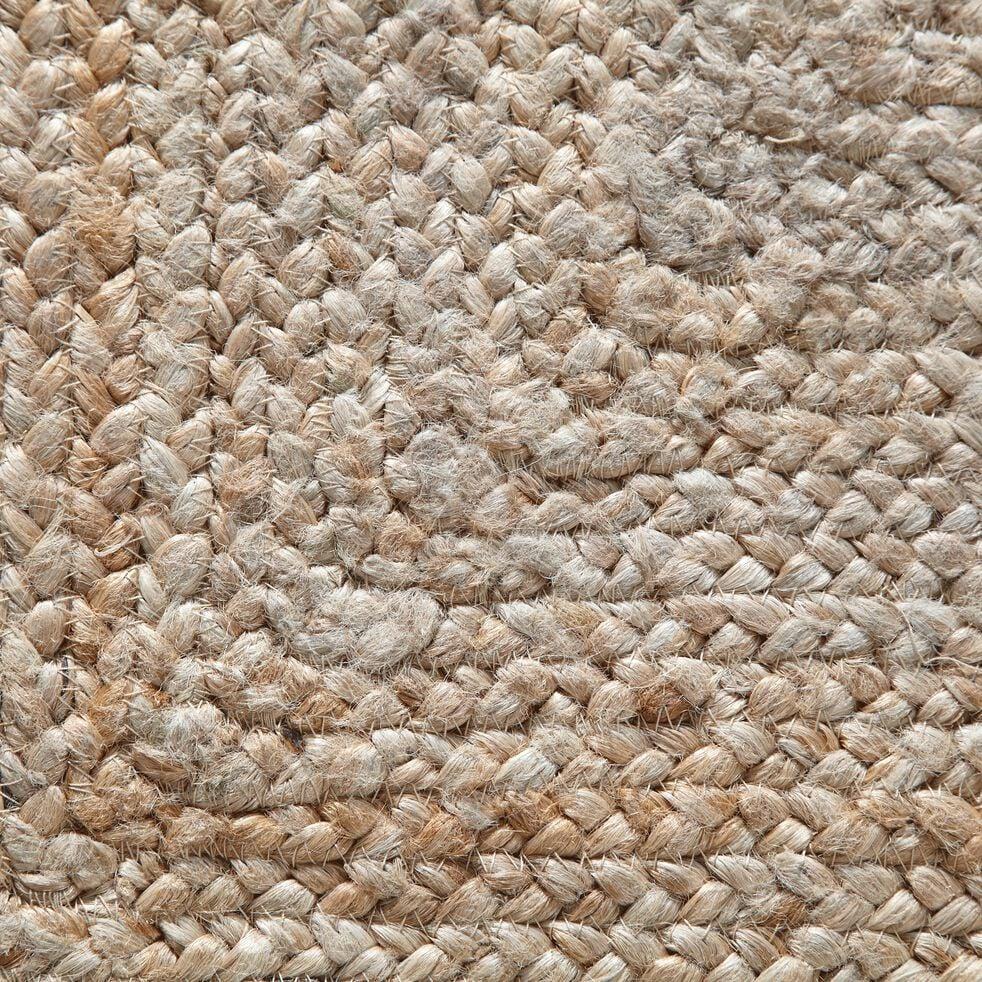 Tapis tressé en jute - naturel 200x290cm-RUSH