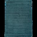 Tapis bleu canard moucheté 120x170cm-STESSY