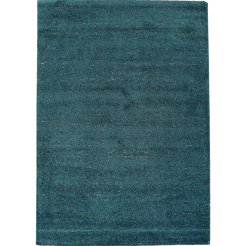 tapis bleu canard mouchet 120x170cm stessy 120x170 cm grands tapis de salon alinea. Black Bedroom Furniture Sets. Home Design Ideas