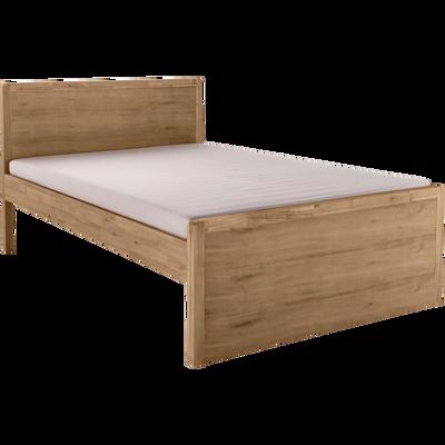 lits adultes 2 places achat en ligne lit double et simple pour adulte alinea. Black Bedroom Furniture Sets. Home Design Ideas
