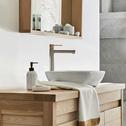 Porte-savon effet marbre blanc-MOUNE