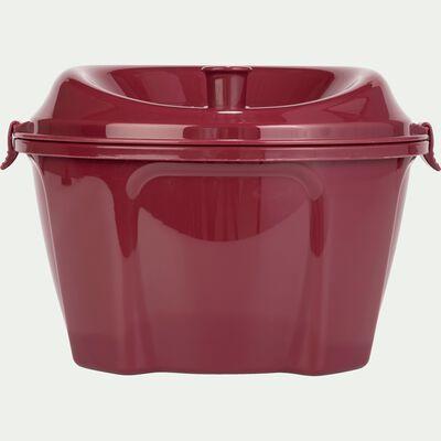 Essoreuse à salade rouge sumac D25cm-ESTOURA