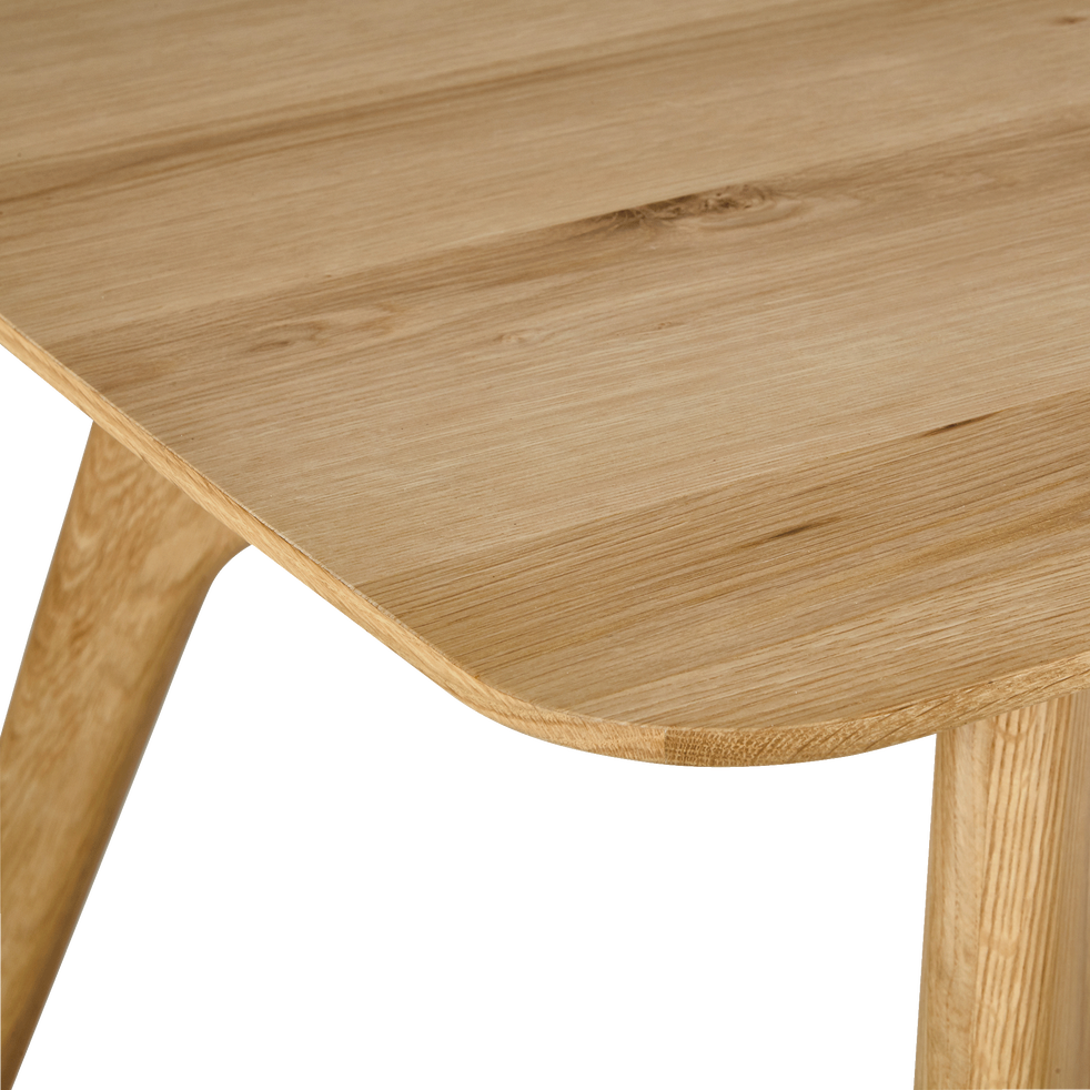 Table de repas rectangulaire bois et acier - 12 places-FANETTE