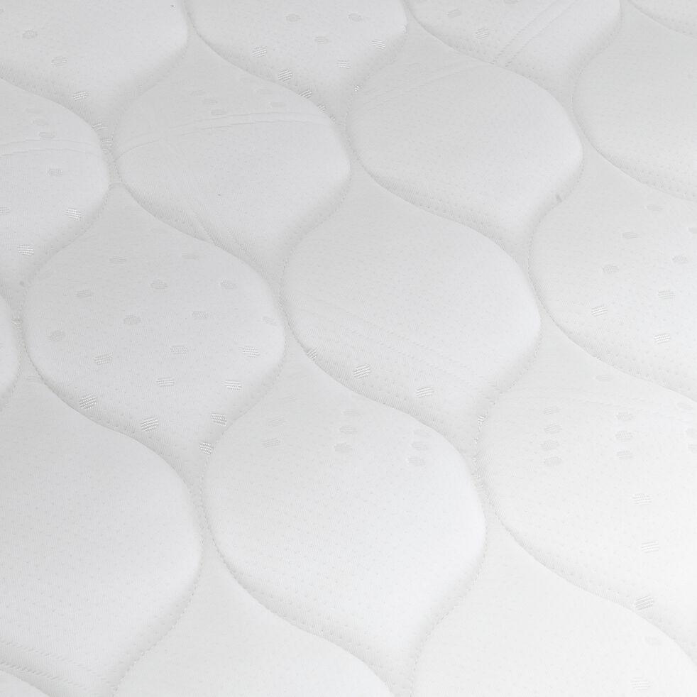 Matelas en mousse gris clair 140x200cm H21cm-MAZAN