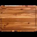 Planche à découper en acacia 60x40cm-SURAN